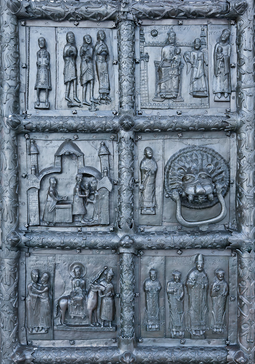 12th Century Bronze Doors of St. Sopia, Novgorod