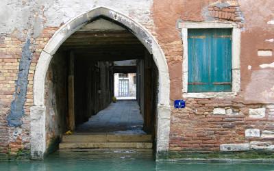 Venetial Canal doorway and window
