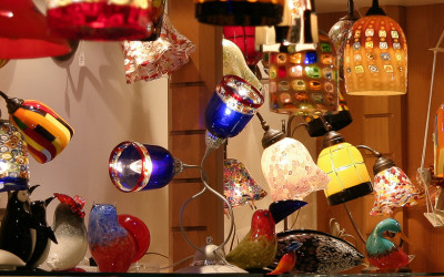 Murano Glass Light Shades