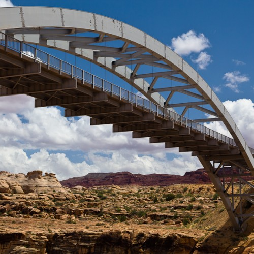Bridge at Hite over Colorado River
