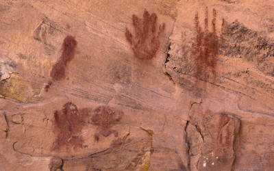 Pictographs - Hand Prints