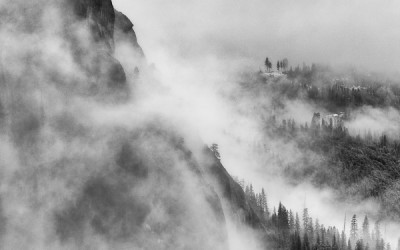 Clearing Storm - Yosemite Valley