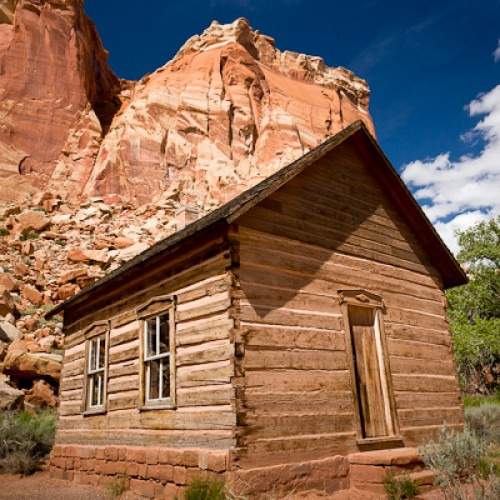 Old School House - Capitol Reef NP