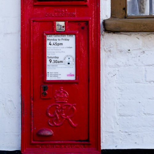 Post Box - Cowden