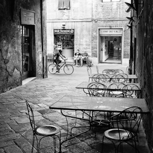 Secluded Cafe, Siena