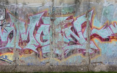The Wall, Graffiti