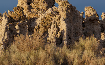 Tufa at Sunset